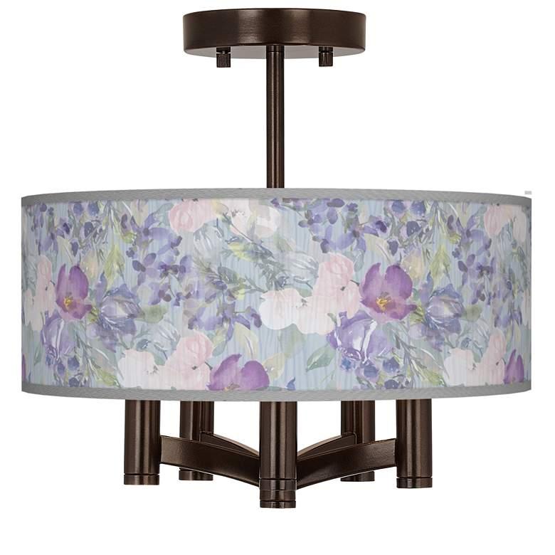 Spring Flowers Ava 5-Light Bronze Ceiling Light
