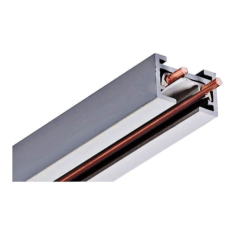 Juno Trac 12/25 Silver 4' Mini Low Voltage Track Section