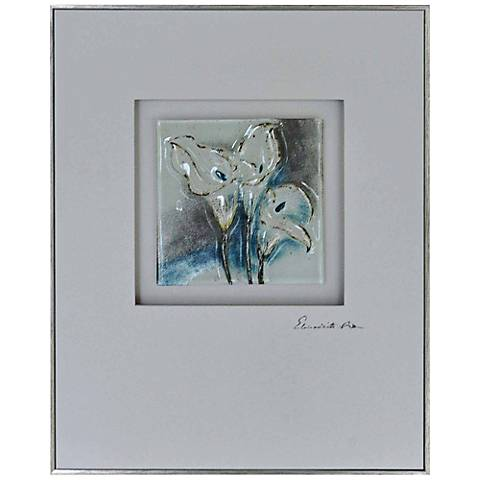 "Crestview Collection Subtle I 20"" High Canvas Wall Art"
