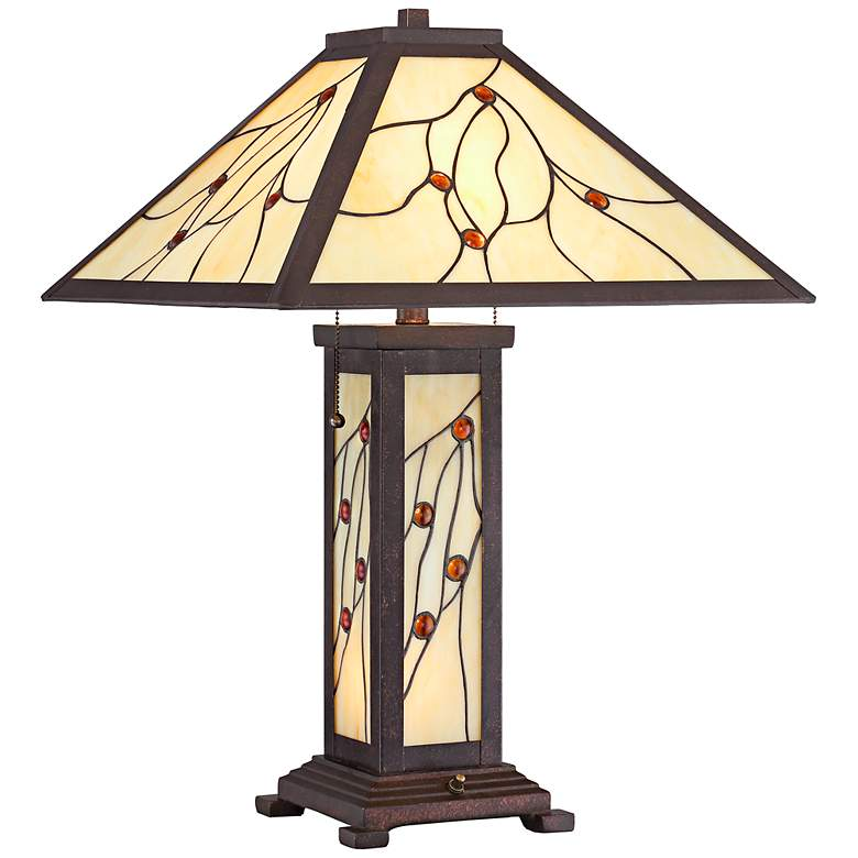 Robert Louis Tiffany Bexley Mission Nightlight Table Lamp