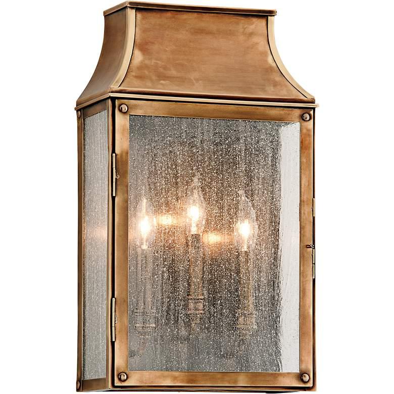 """Beacon Hill 20"""" High Heirloom Brass Outdoor Wall Light"""