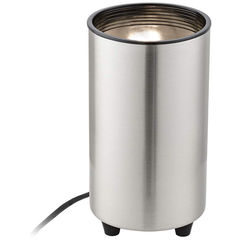 """Mini Accent 6 1/2"""" High Can Spot Light in Brushed Nickel"""