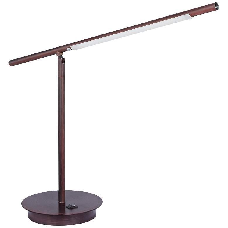 Telesco Oil Rubbed Bronze LED Modern Desk Lamp