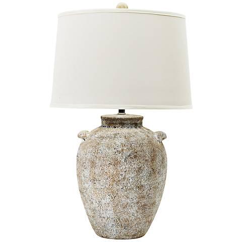 Lossi Natural Concrete Ceramic Table Lamp