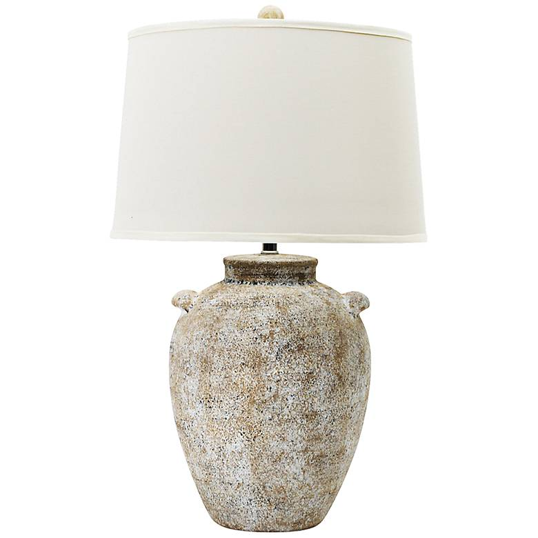 Lossi Natural Concrete Ceramic Table Lamp