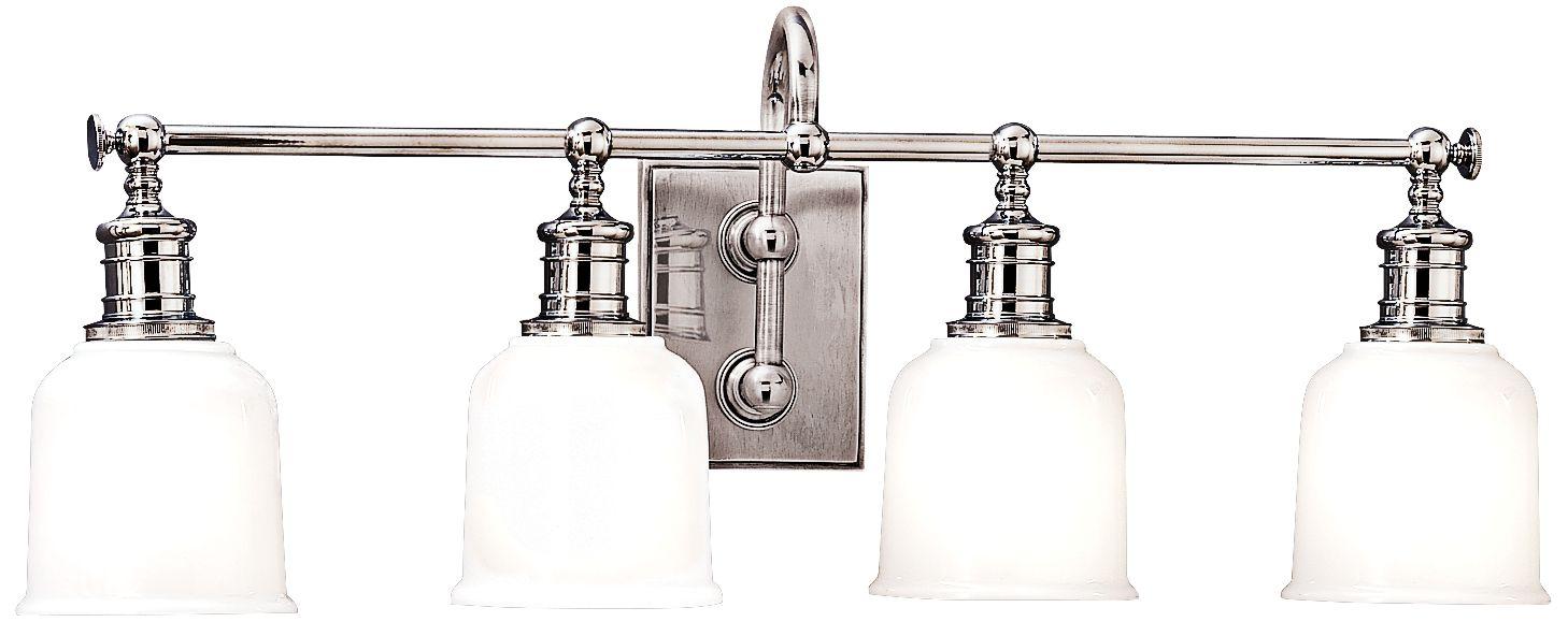 Hudson Valley Keswick 4-Light 29  Wide Chrome Bath Light  sc 1 st  L&s Plus & Hudson Valley Keswick 4-Light 29