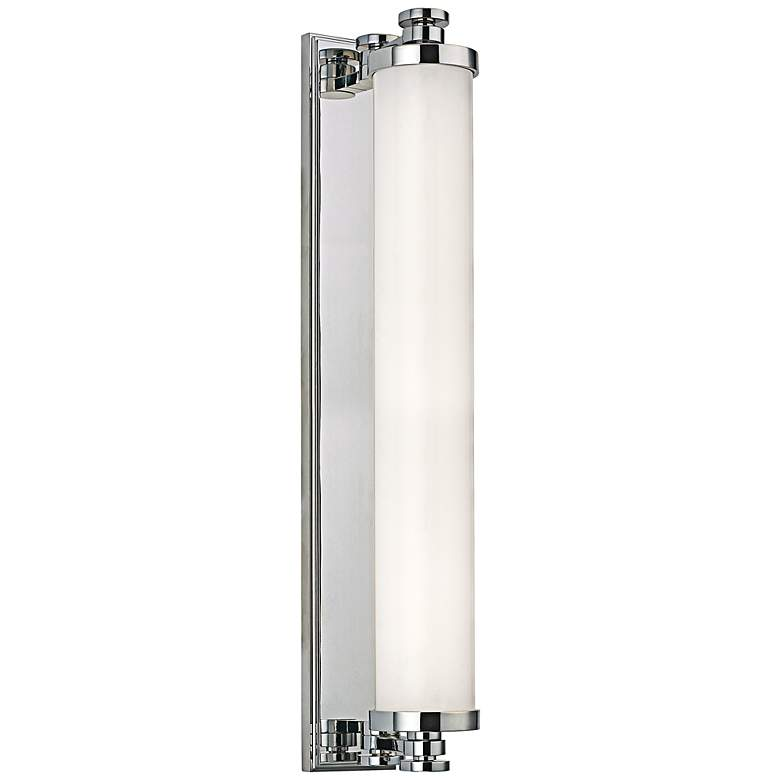 "Hudson Valley Sheridan LED 23 1/2"" High Chrome Wall Sconce"
