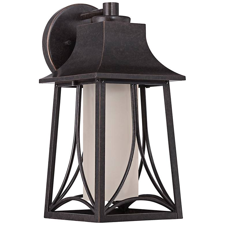 """Quoizel Hunter 15""""H Imperial Bronze Outdoor Wall Light"""