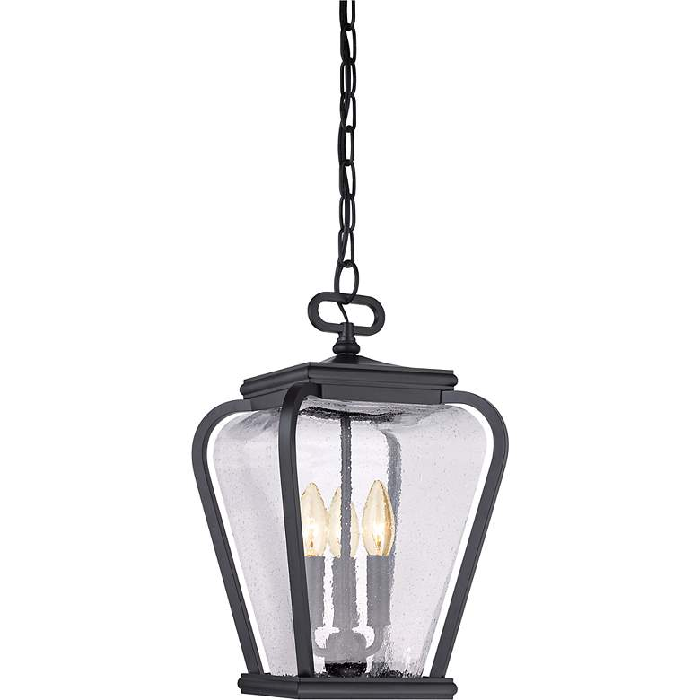 "Province 15 1/2"" High Mystic Black Outdoor Hanging"