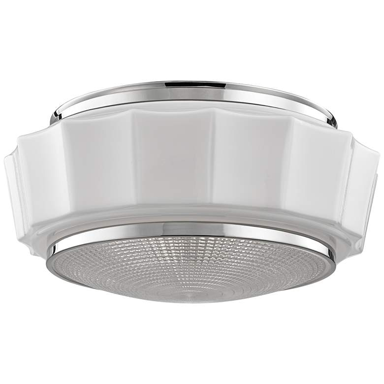 "Hudson Valley Odessa 16 1/4"" Polished Nickel Ceiling"