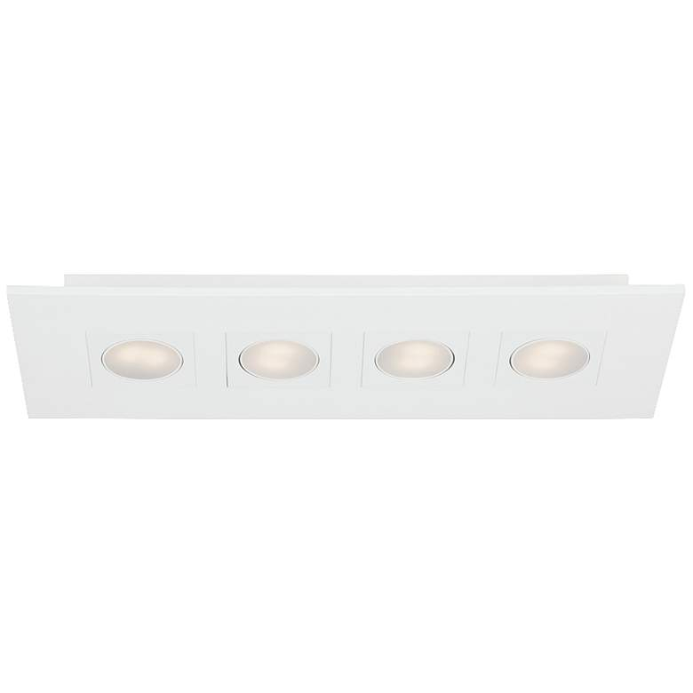 "Eurofase Venue 24 3/4"" Wide White 4-LED Ceiling Light"