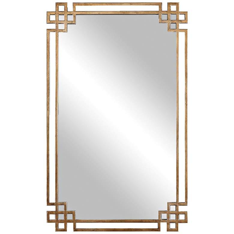 "Uttermost Devoll Gold 23"" x 36 3/4"" Rectangular Wall Mirror"