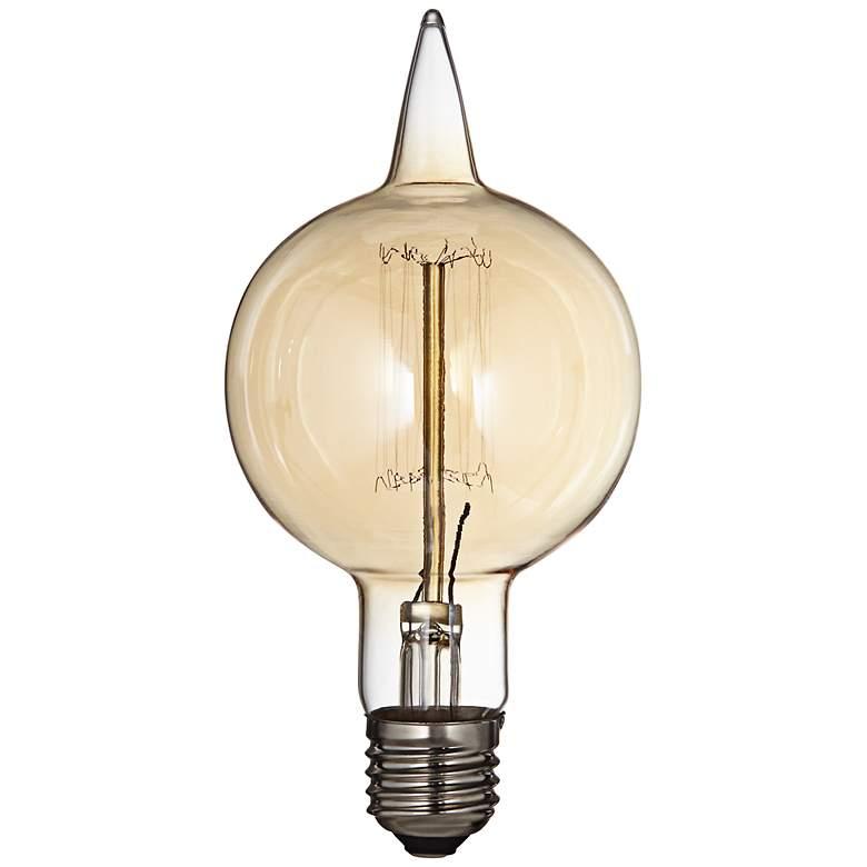 Amber 60 Watt Medium Base Edison Bulb 8d685 Lamps Plus