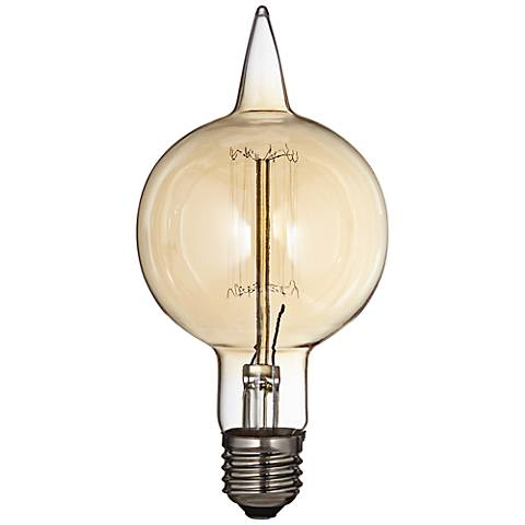 Amber 60 Watt Medium Base Edison Bulb