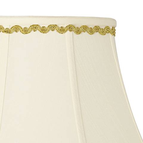 Metallic Gold Relaxed Wave Lamp Shade Trim - 4 Yards