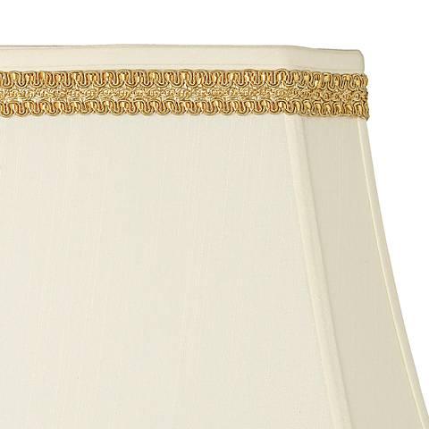 Yellow Gold Ribbon Scroll Lamp Shade Trim - 3 Yards