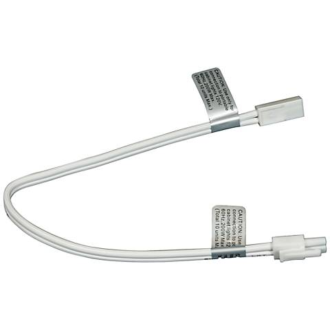 "MVP Puck Light 12"" White Linkable Extension Cord"