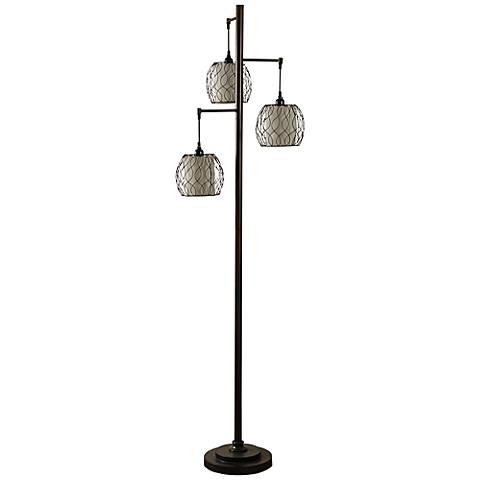 light glass caged designs seeded style bulb products oiled floor industrial edison libby lamps floors lamp bronze