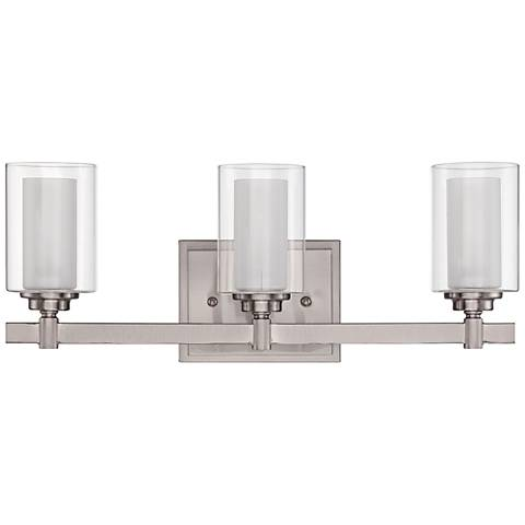 "Craftmade Celeste 19 1/2"" Wide Polished Nickel Bath Light"