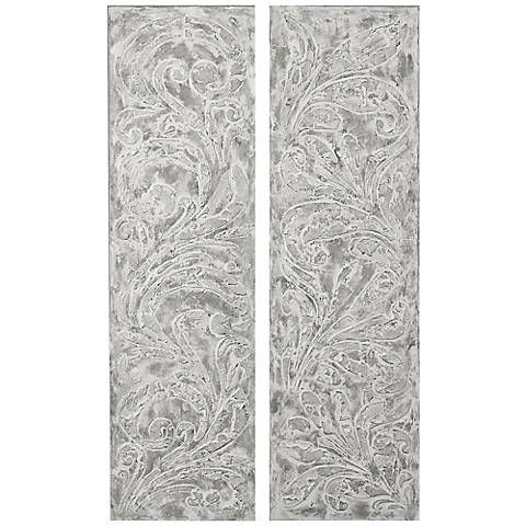 Uttermost Frost On The Window Canvas Wall Art Set of 2