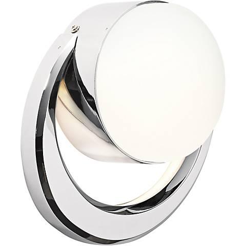 "Elan Novella 8 3/4"" High LED Etched Glass Wall Sconce"