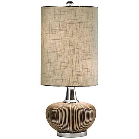 Thumprints Sahara Natural Table Lamp