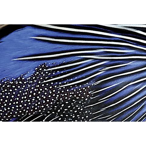 "Pheasant 48"" Wide Reverse Painted Glass Wall Art"