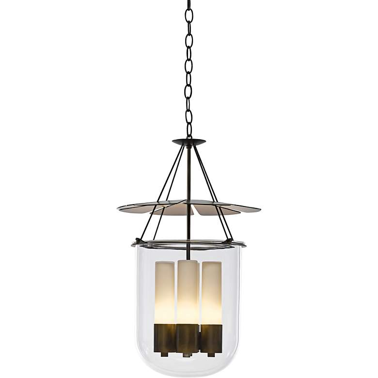 """Hubbardton Forge Piccadilly 14 3/4""""W Bronze Pendant Light"""