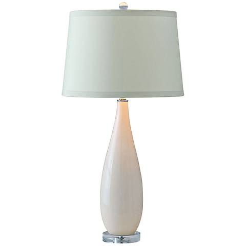 Port 68 Emma Ivory Porcelain Table Lamp
