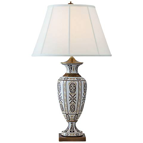 Port 68 William Hand-Painted Porcelain Table Lamp