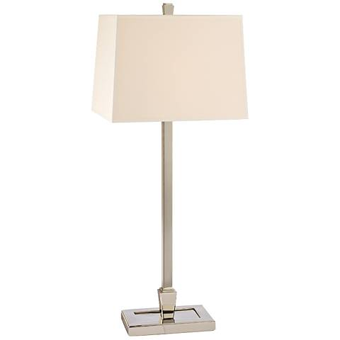 Hudson Valley Burke Polished Nickel Table Lamp