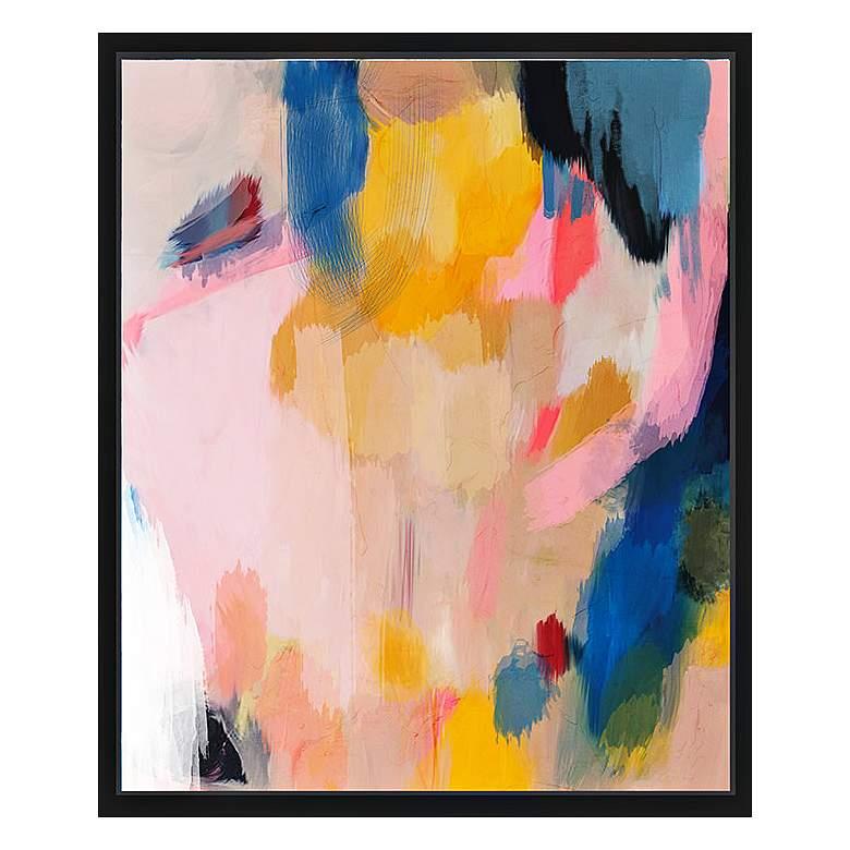 "Pink Lemonade II 25 3/4"" High Framed Canvas"