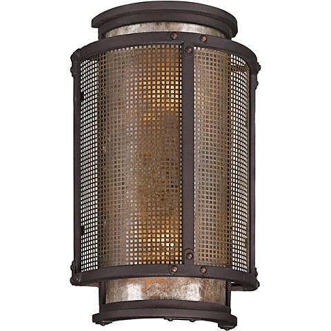"Copper Mountain 14 1/4"" High Bronze Outdoor Wall Light"