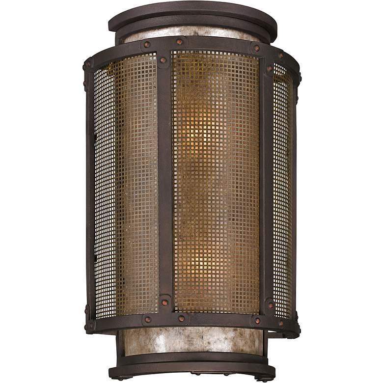 """Copper Mountain 18 1/4"""" High Bronze Outdoor Wall Light"""
