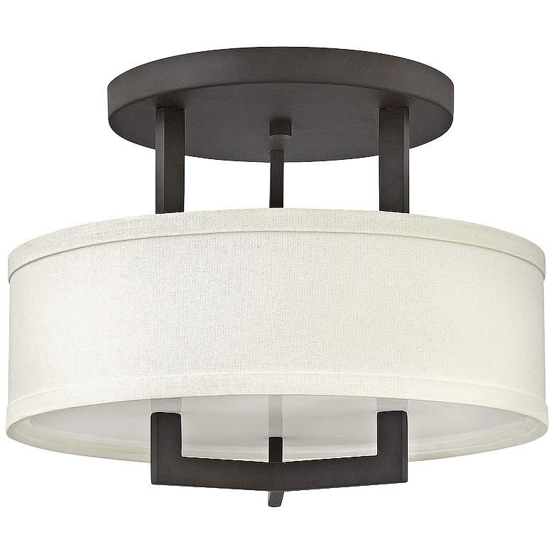 "Hinkley Hampton 15"" Wide Buckeye Bronze Ceiling Light"
