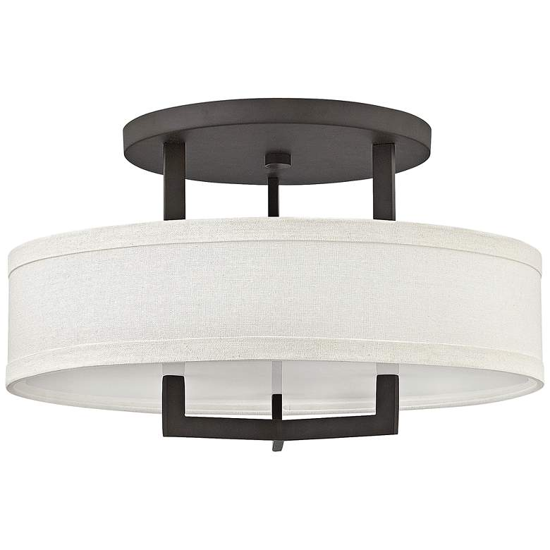 "Hinkley Hampton 20"" Wide Buckeye Bronze Ceiling Light"