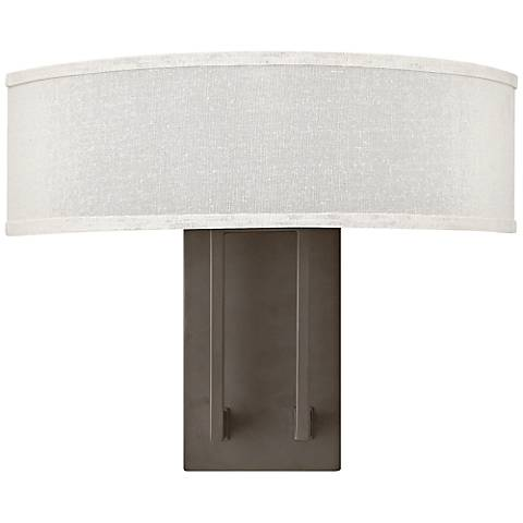 "Hinkley Hampton 12"" High Buckeye Bronze Wall Sconce"