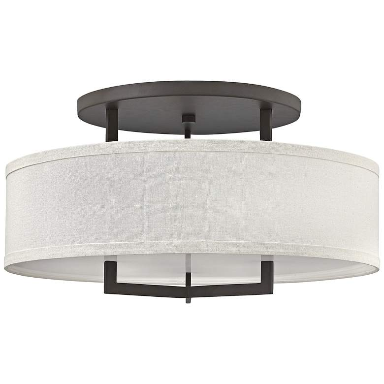 "Hinkley Hampton 26"" Wide Buckeye Bronze Ceiling Light"