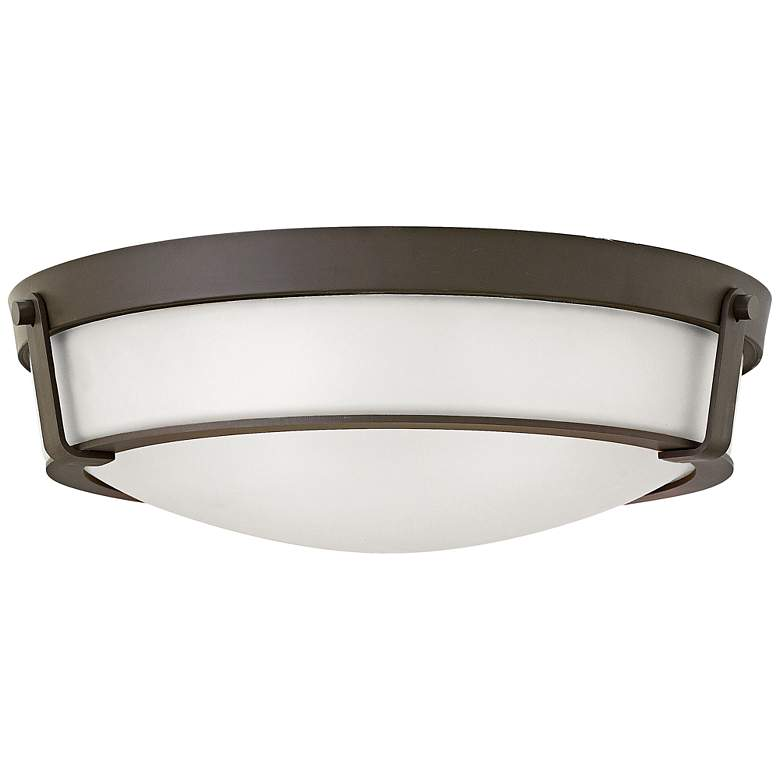 "Hinkley Hathaway 21 1/4""W Olde Bronze Ceiling Light"