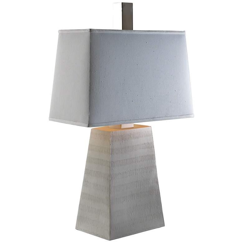 Pyramid to the Sun Reactive Glaze Light Table Lamp
