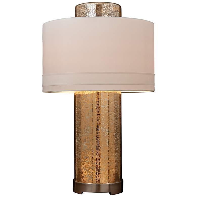 Lighthouse Hand-Blown Mercury Glass Night Light Table Lamp