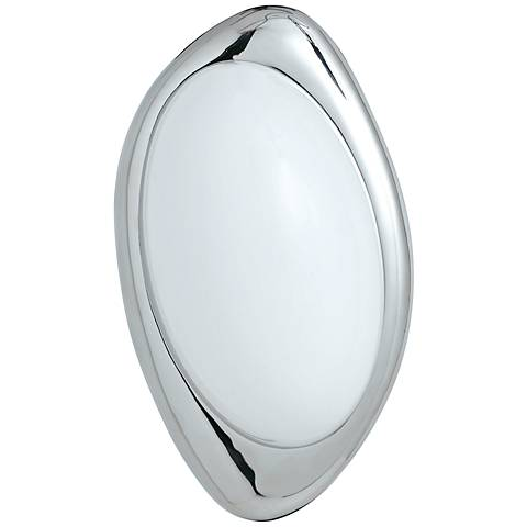 """Wink 11 3/4"""" High Polished Nickel Wall Sconce"""