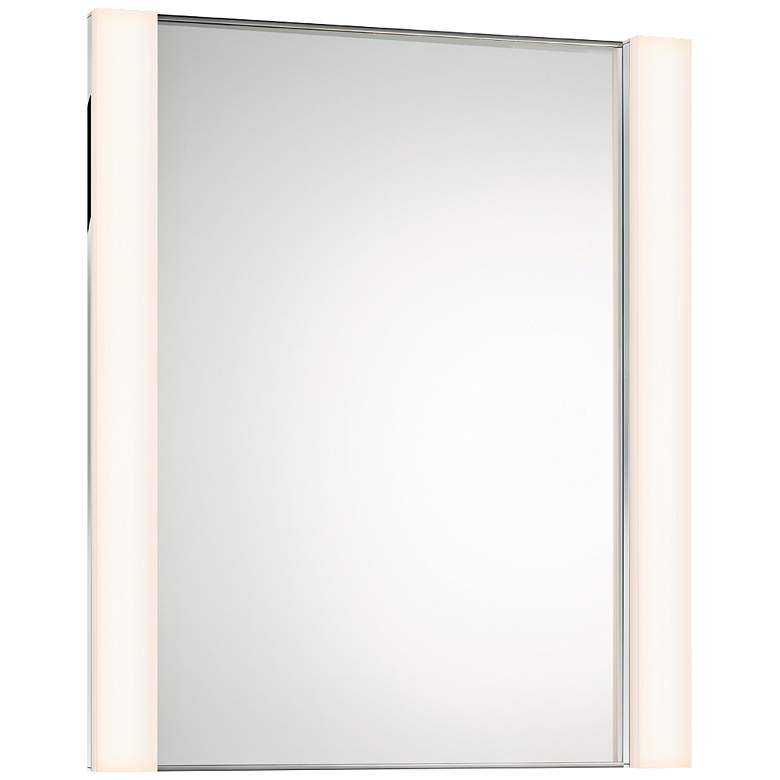 """Sonneman Wide 30"""" x 36 1/4"""" Mirror with 2-LED Lights"""