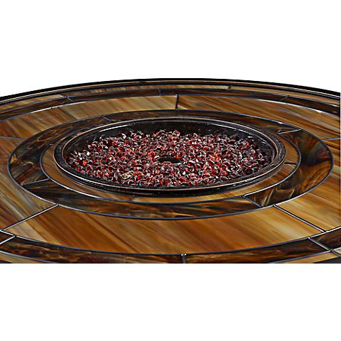 Red Glass Firepit Beans - 16 Pound Bag