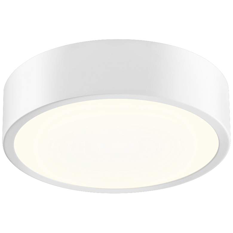 """Sonneman Pi 8""""W Textured White Round LED Ceiling Light"""