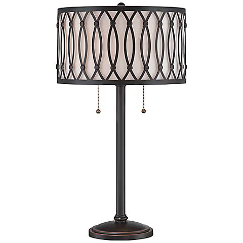 Lite Source Tracy Dark Bronze Metal Table Lamp