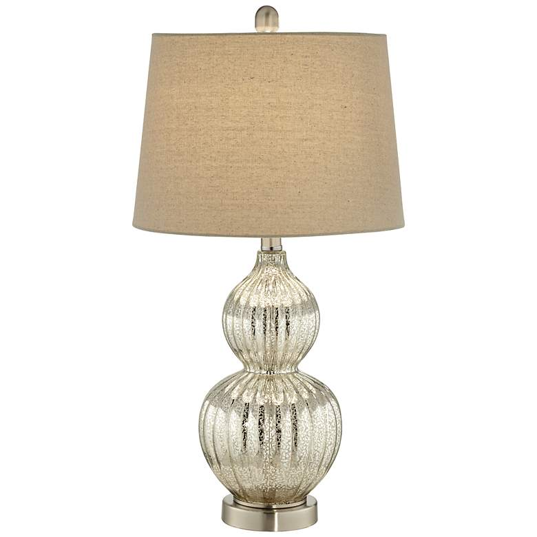 Lili Fluted Mercury Glass Table Lamp