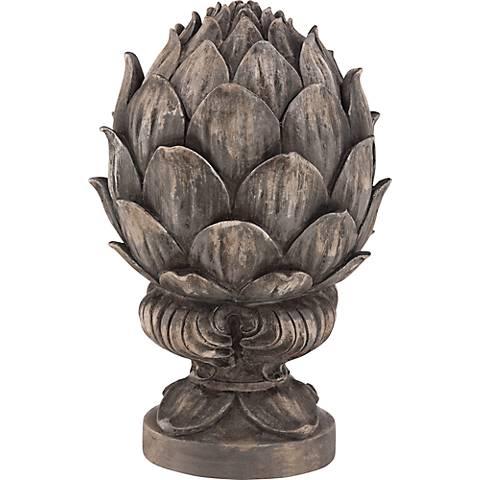 Bronze Artichoke Decorative Accent