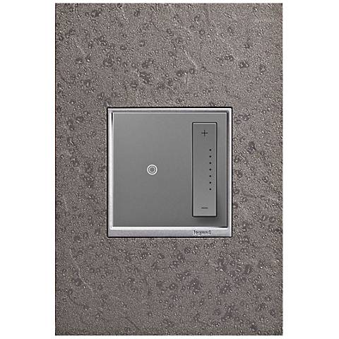 adorne Hubbardton Forge Natural Iron 1-Gang Wall Plate w/ Dimmer