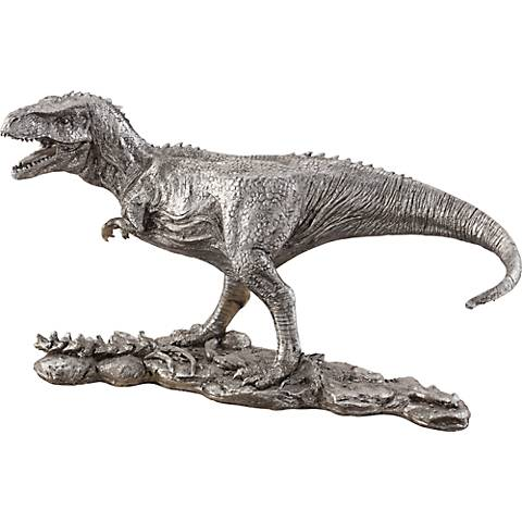 "Running T-Rex 9 1/4"" High Figurine"